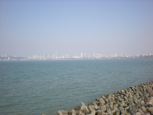 Skyline seen from Nariman point