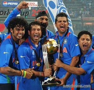India wins World cup of cricket 2011
